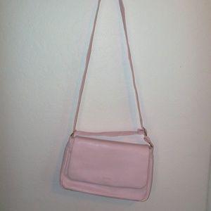 Vintage Pink Leatherette Bag (#EV638)